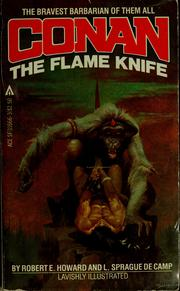 Cover of: Conan the flame knife