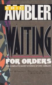 Cover of: Waiting for Orders