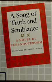 Cover of: A song of truth and semblance