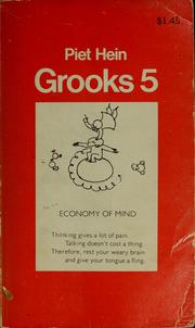 Cover of: Grooks 5