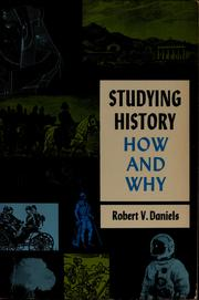 Cover of: Studying history: how and why