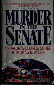 Cover of: Murder in the senate