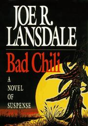Cover of: Bad chili: a Hap and Leonard novel