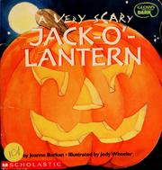 Cover of: A very scary Jack-o'-Lantern