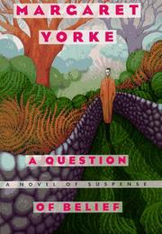 Cover of: A question of belief