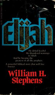 Cover of: Elijah | William H. Stephens