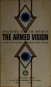 Cover of: The armed vision | Stanley Edgar Hyman