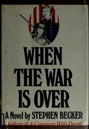 Cover of: When the war is over