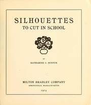 Silhouettes to cut in school