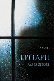 Cover of: Epitaph