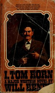 Cover of: I, Tom Horn