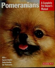 Cover of: Pomeranians