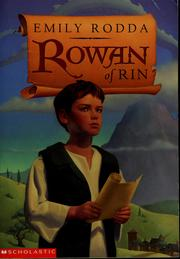 Rowan of Rin by Emily Rodda