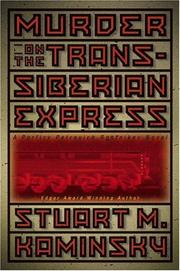 Cover of: Murder on the Trans-Siberian Express