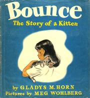 Cover of: Bounce, the story of a kitten