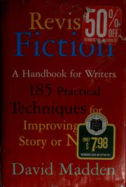 Cover of: Revising fiction