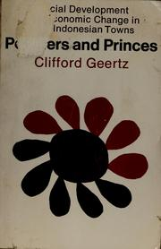 Cover of: Peddlers and Princes