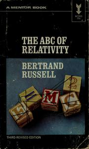 Cover of: The ABC's of Relativity