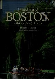 Cover of: In and out of Boston with (or without) children