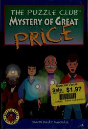 Cover of: Mystery of Great Price (Puzzle Club)