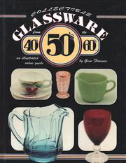 Cover of: Collectible glassware from the 40