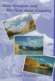 Cover of: Glen Canyon and the San Juan country