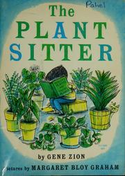 Cover of: The plant sitter. | Gene Zion