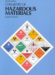 Cover of: Chemistry of Hazardous Material