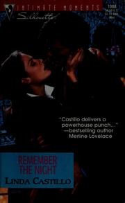 Cover of: Remember the night | Linda Castillo