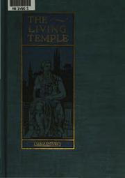 Cover of: The living temple