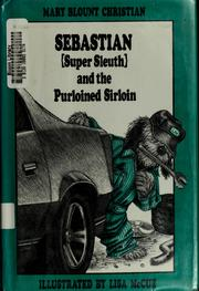 Cover of: Sebastian (super sleuth) and the purloined sirloin