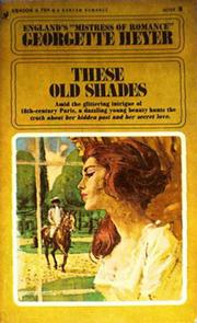 Cover of: These old shades: Alastair-Audley 1