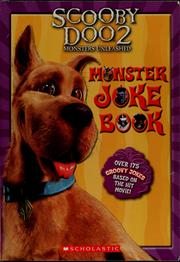 Cover of: The official Scooby-Doo 2 monsters unleashed monster joke book | Howard Dewin
