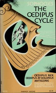Cover of: The Oedipus cycle | Sophocles