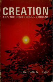 Cover of: Creation and the high school student