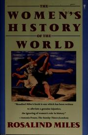 Cover of: The women's history of the world
