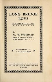Cover of: Long Bridge boys: a story of 1861
