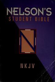 Cover of: Nelson's student Bible