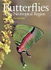 Cover of: Butterflies of the Neotropical Region. Part 7: Lycaenidae by
