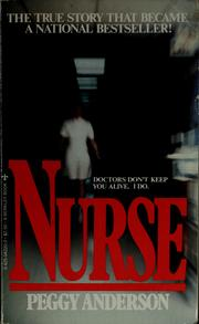 Cover of: Nurse | Peggy Anderson