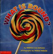 Cover of: What is round?