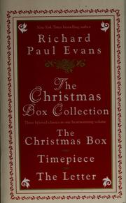 Cover of: The Christmas box collection