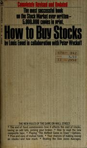 Cover of: How to buy stocks | Louis Engel