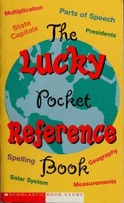 Cover of: The Lucky Pocket Reference Book |
