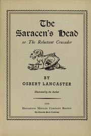 Cover of: The Saracen's head