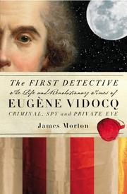 Cover of: The First Detective | James Morton