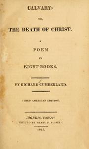 Cover of: Calvary