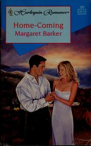 Cover of: Home-Coming (Harlequin Romance #393) | Margaret Barker