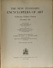 Cover of: The new standard encyclopedia of art