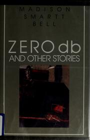 Cover of: Zero db and other stories